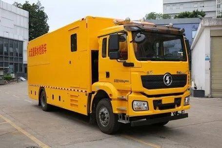 德龙新M3000大流量排水抢险车发布